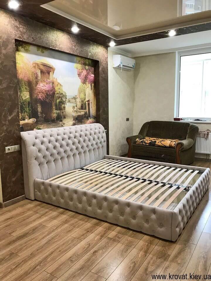 двуспальная кровать 180 на 200 под заказ