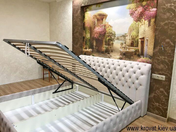 2х спальная кровать с подъемным механизмом на заказ