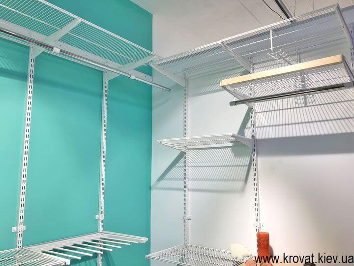 дизайн гардеробной комнаты на заказ