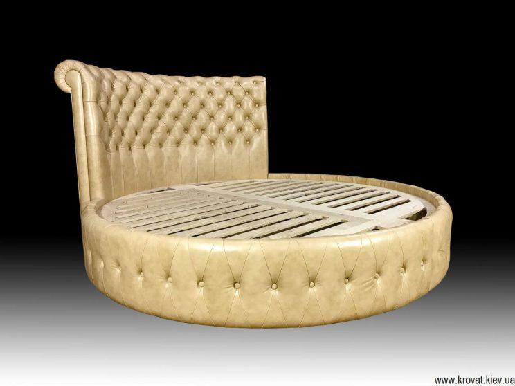 полуторная круглая кровать на заказ
