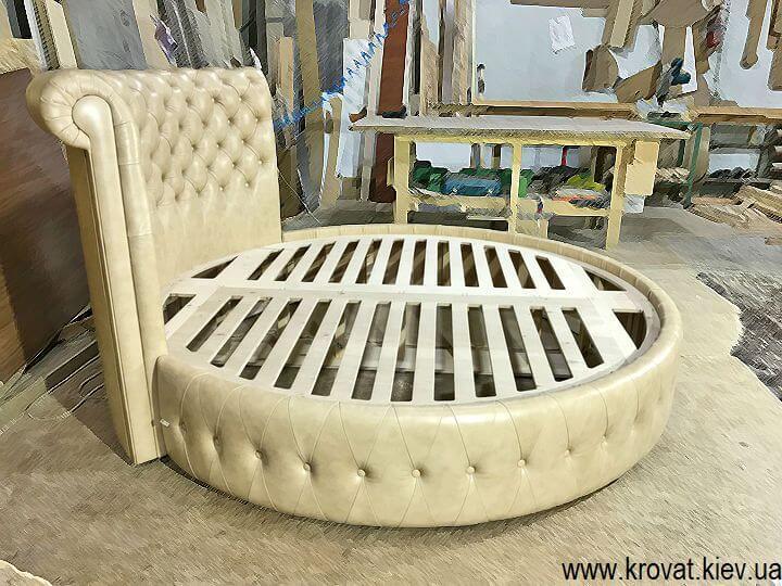 изготовление круглых кроватей на заказ