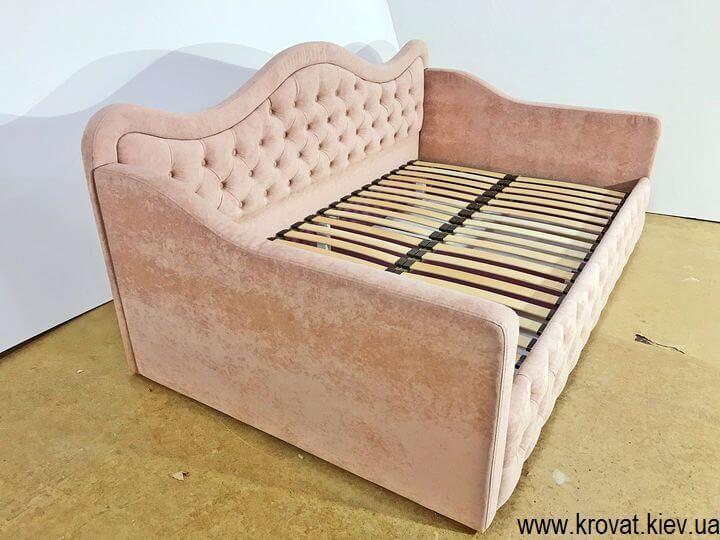 кровать для девочки под ортопедический матрас на заказ