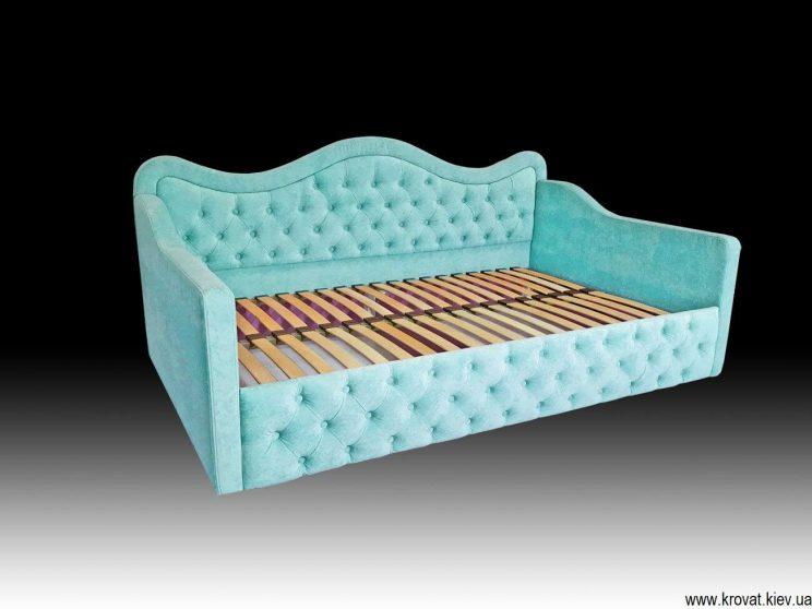 бирюзовая кровать для девочки на заказ
