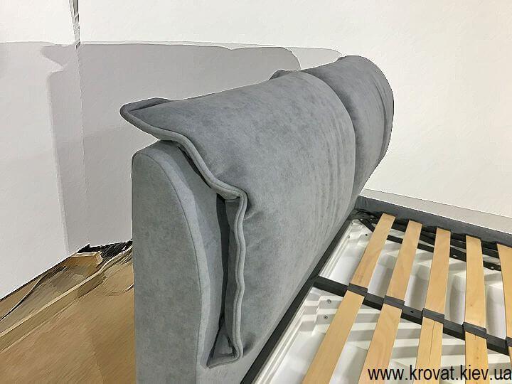 ортопедическая кровать с мягким изголовьем на заказ