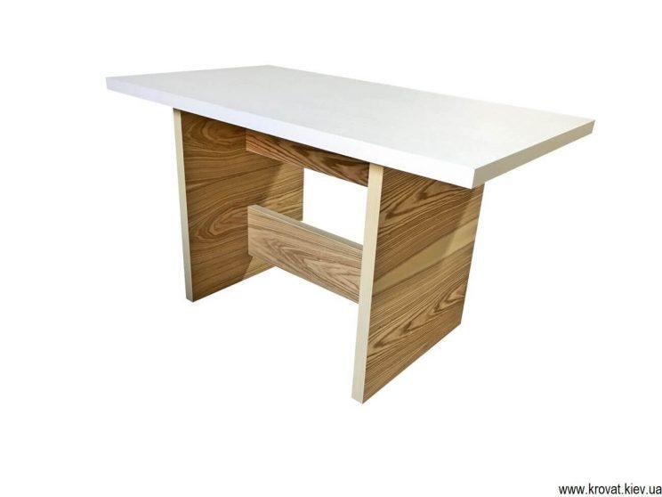 шпонований стіл на кухню під замовлення