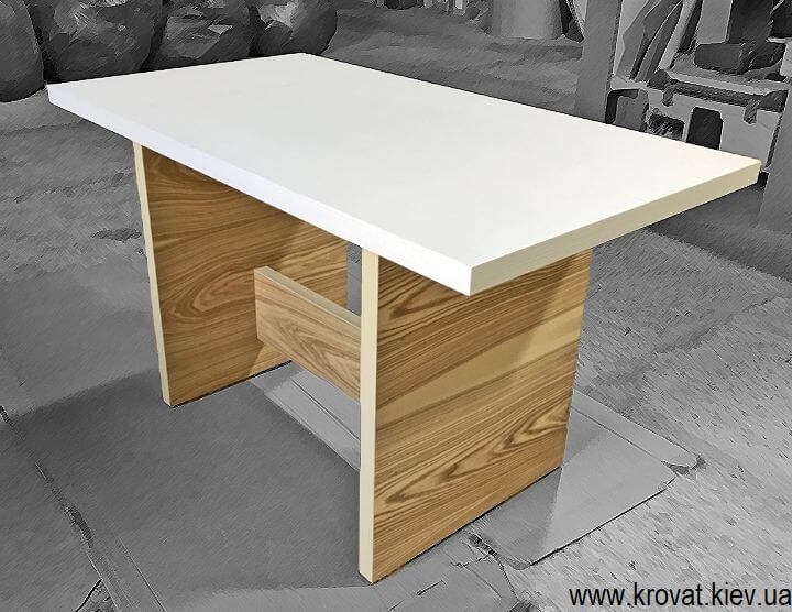 кухонный стол из шпона на заказ