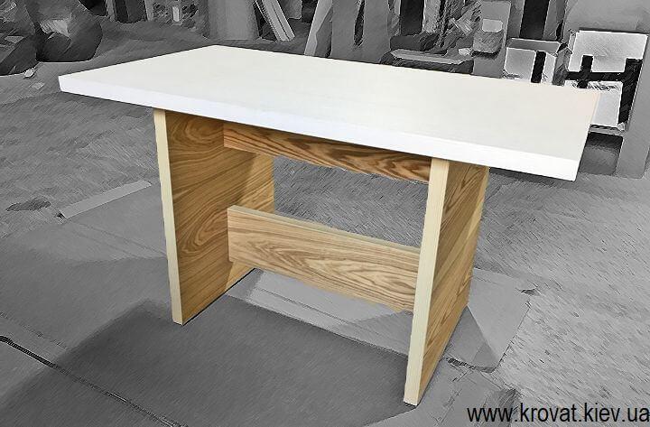 шпонированные столы на кухню под заказ