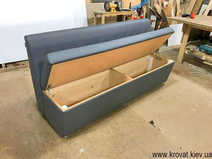 кухонный диван с ящиком на заказ