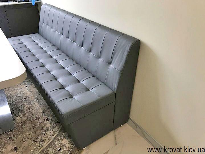 кухонний диван в інтер'єрі кухні