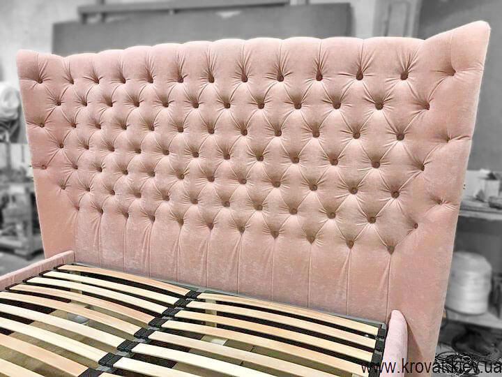 двоспальне класичне ліжко на замовлення