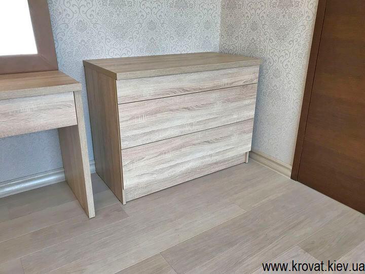 меблі в спальню з ДСП на замовлення
