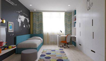 3d проект спальни для ребенка