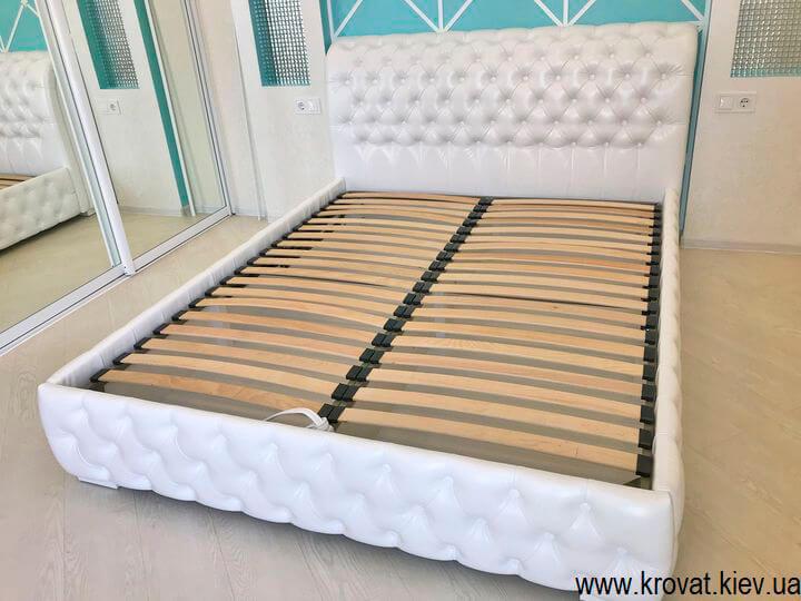 кровать 160 на 200 в интерьере спальни на заказ