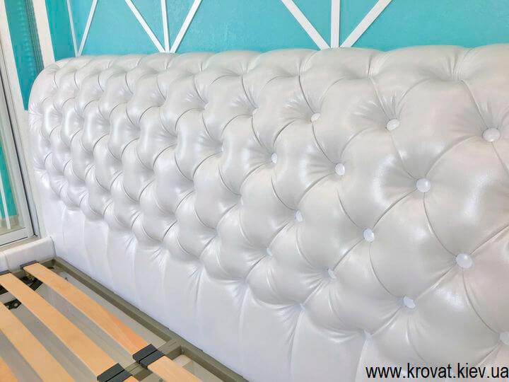 белая кровать 160 на 200 на заказ