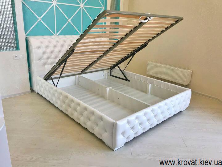 ліжко 160 на 200 з підйомним механізмом на замовлення
