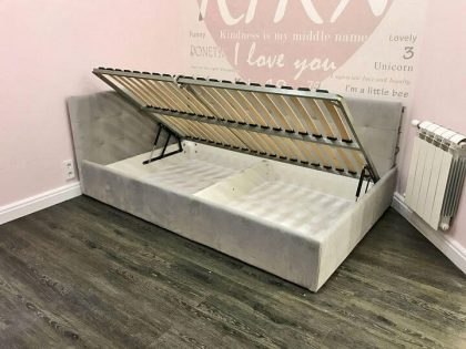 кровать для девочки с подъемным механизмом