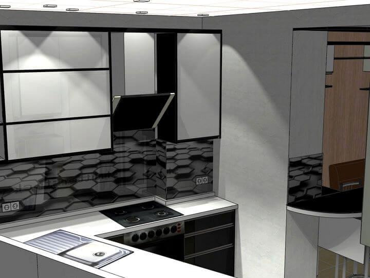 3D проекти кухонь