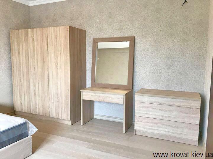 спальня с туалетным столиком на заказ