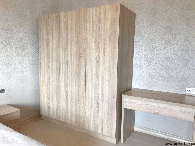 шкаф распашной в спальню на заказ