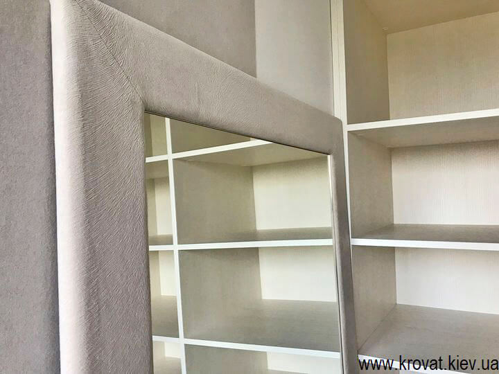 гардеробная в спальне на заказ