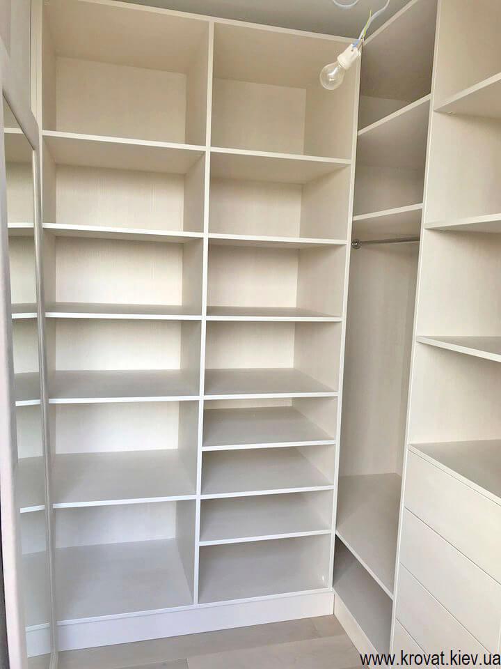 гардеробна кімната маленька на замовлення
