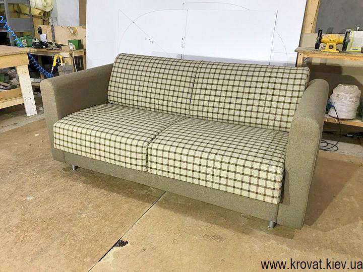 прямой диван с механизмом миллениум на заказ