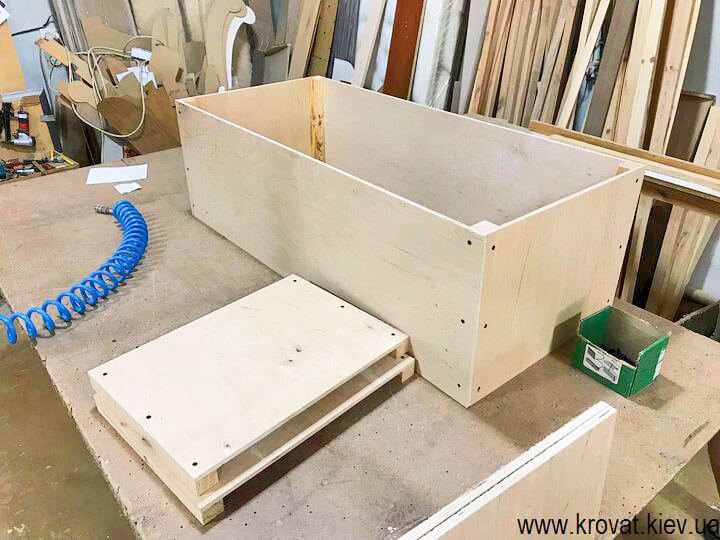 каркас кухонного уголка из фанеры 10 мм