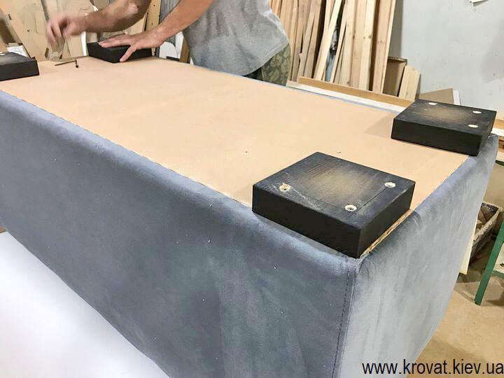 як зробити м'які меблі на кухню своїми руками