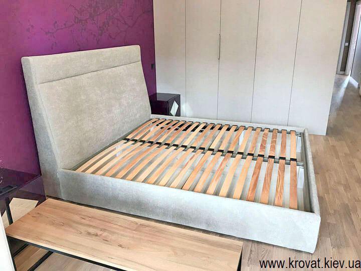 ліжко 180 на 200 в інтер'єрі спальні на замовлення