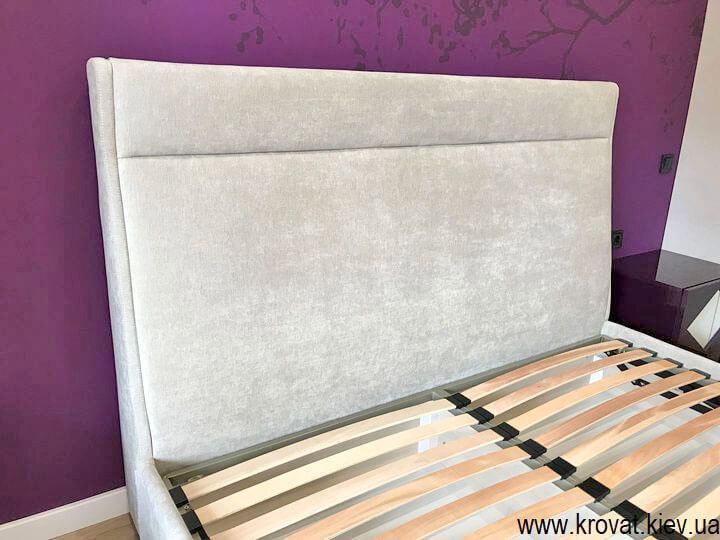 ліжко 180 на 200 з м'яким узголів'ям на замовлення