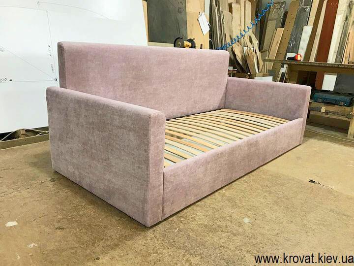 подростковая кровать диван для девочки на заказ