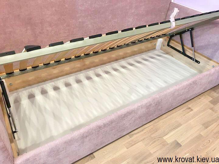 кровать диван для девочки с подъемным механизмом на заказ