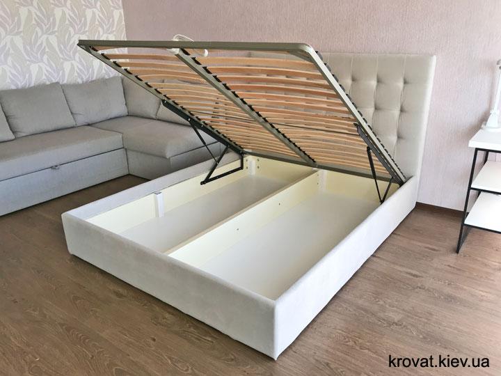 кровать Новая Стелла с подъемным механизмом на заказ