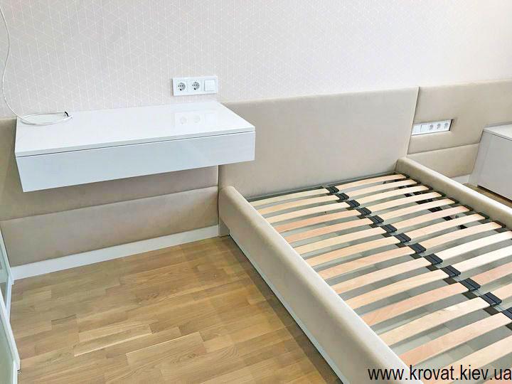 полуторная кровать в спальню на заказ