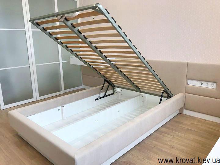 полуторне ліжко з підйомним механізмом на замовлення