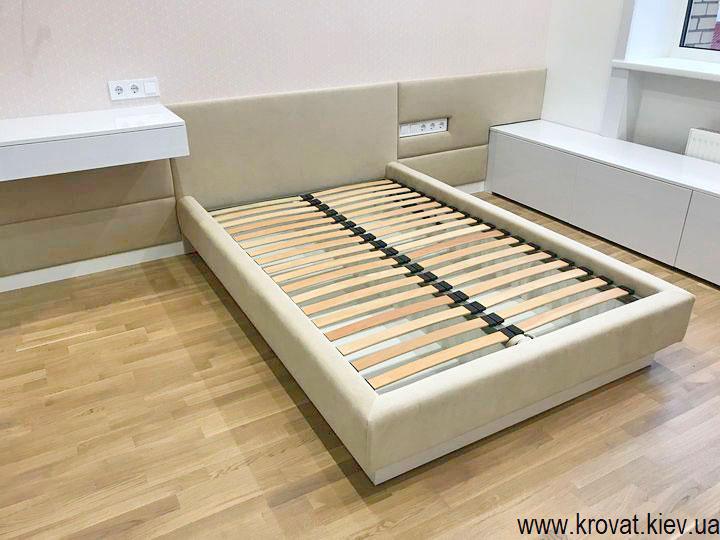кровать для девочки в интерьере спальни на заказ