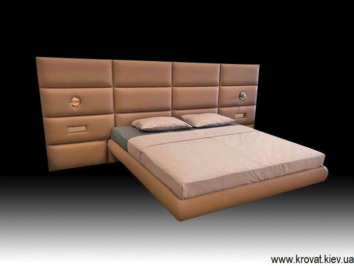 2 спальная кровать на высоких ножках на заказ