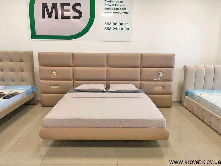 кровать на высоких ножках на заказ