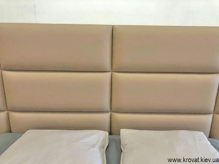 спинка ліжка з прямокутників