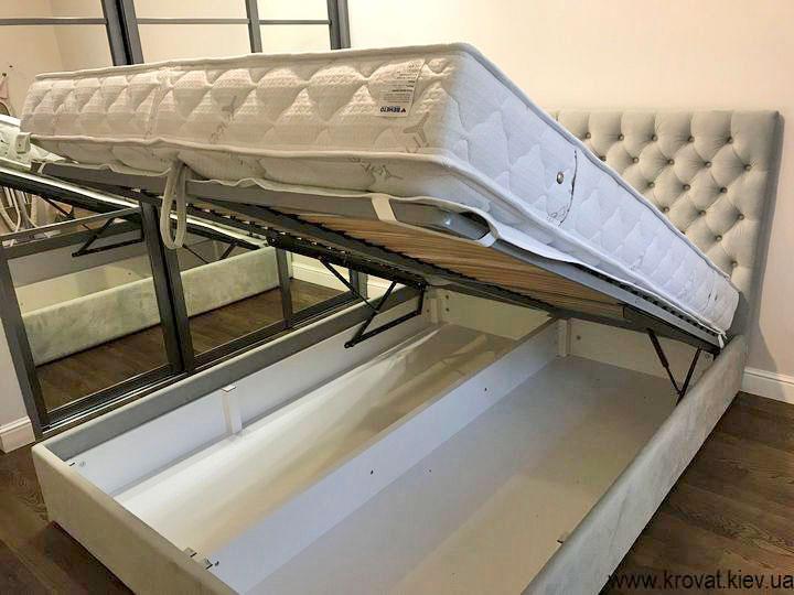 кровать 160х220 с подъемным механизмом на заказ