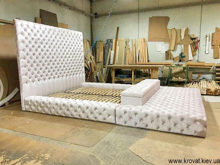 кровать 200х220 в большую спальню на заказ