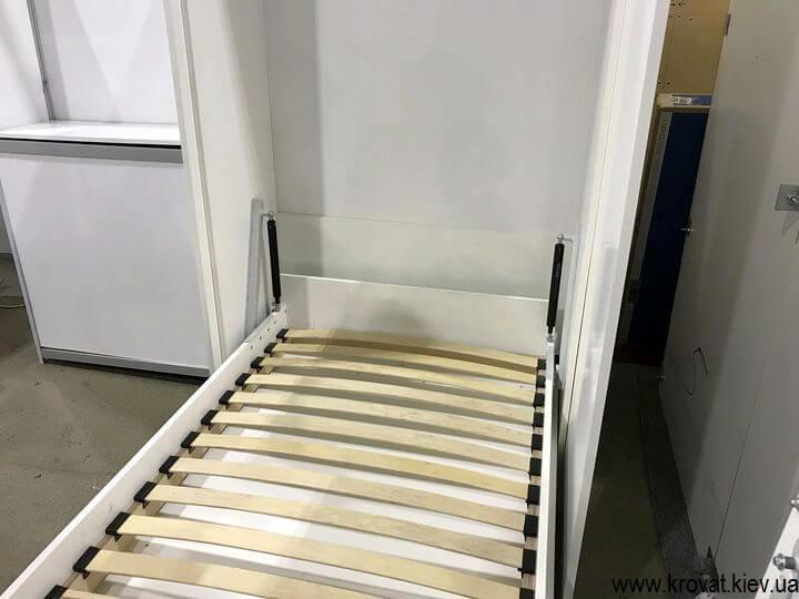 подъемная кровать в шкаф