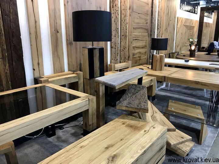 выставка деревянной мебели