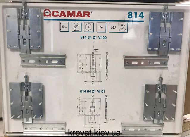 крепления стеновых панелей Camar 814