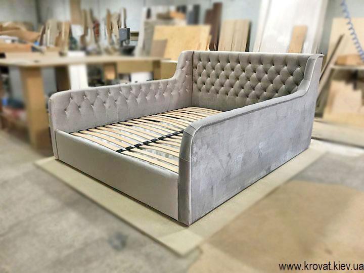 кровать с бортами для подростка девочки на заказ