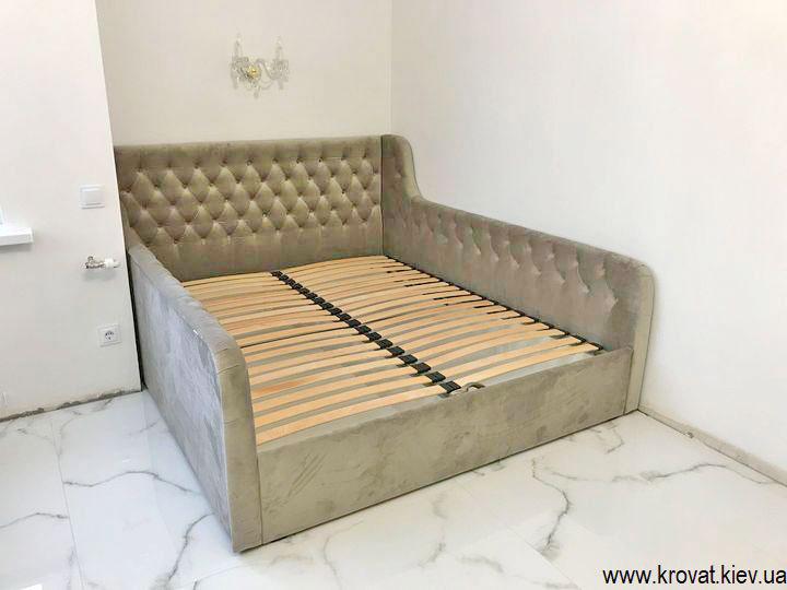 кровать для подростка девочки в интерьере спальни
