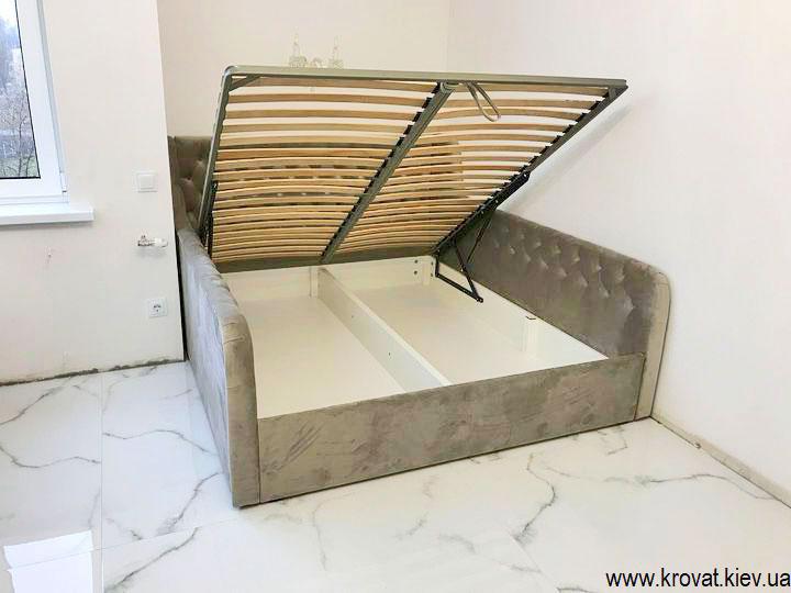 кровать для подростка девочки с подъемным механизмом