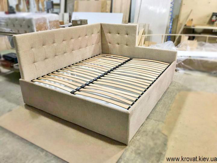 изготовление кроватей с нестандартной спинкой на заказ