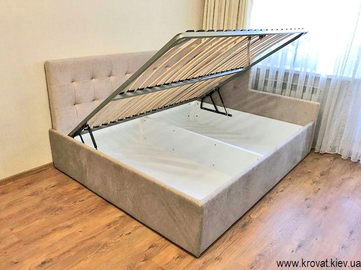 угловая кровать с подъемным механизмом