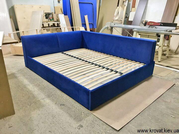 мягкая угловая кровать на заказ